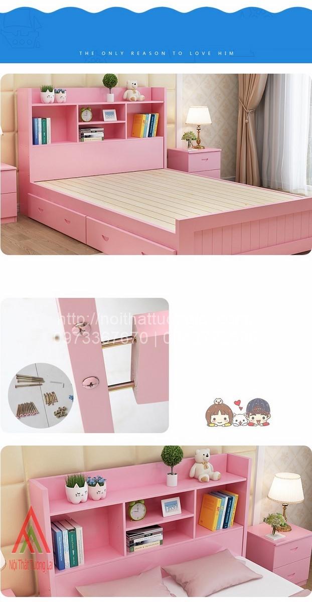 Giường ngủ trẻ em đa chức năng GB6804 8