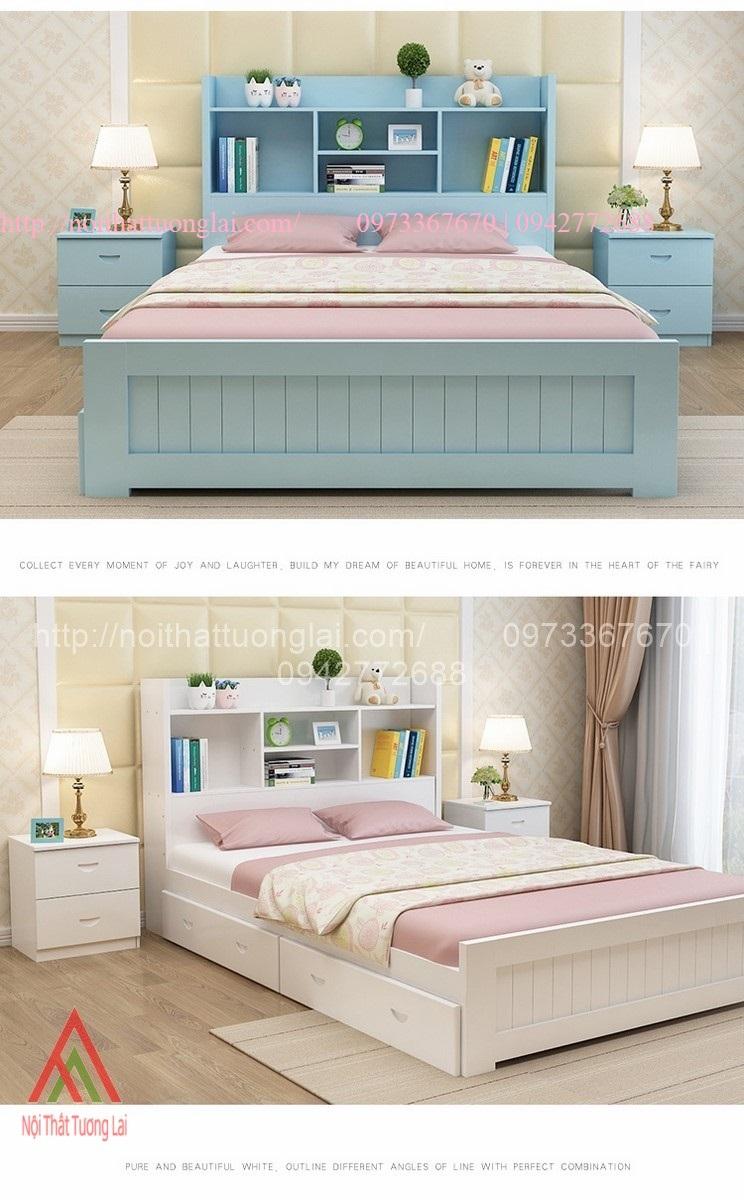Giường ngủ trẻ em đa chức năng GB6804 1