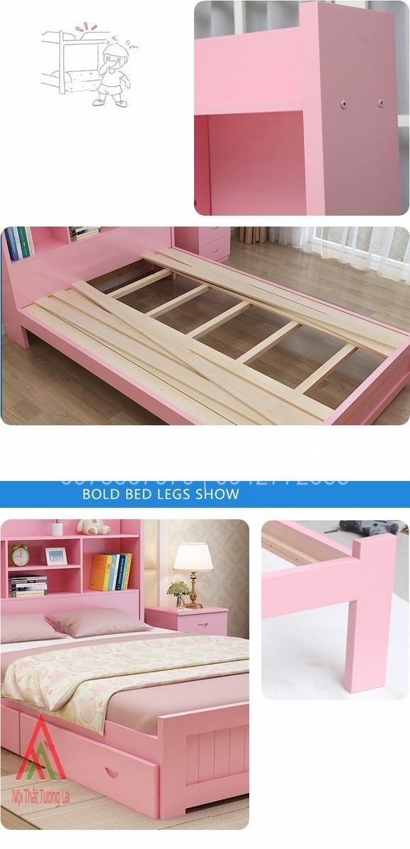 Giường ngủ trẻ em đa chức năng GB6804 7