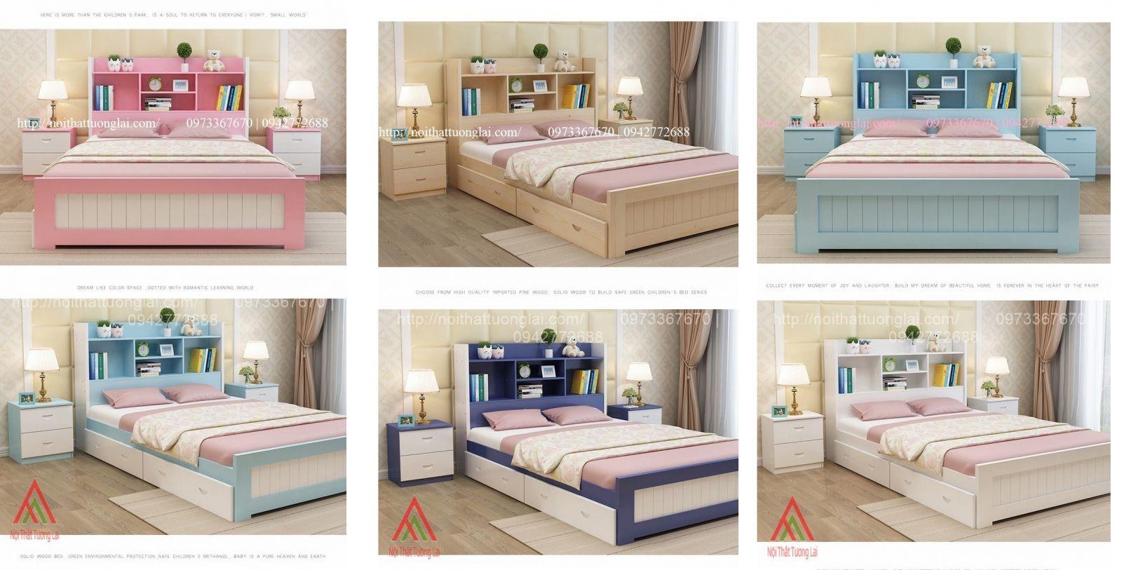 Giường ngủ trẻ em đa chức năng GB6804 2