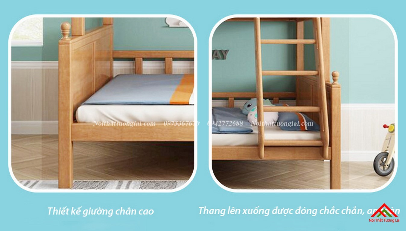 Giường tầng đẹp cho bé GT6829 3