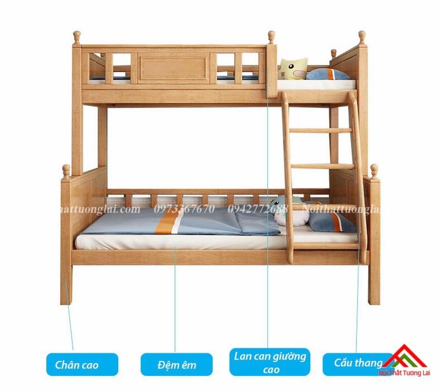 Giường tầng đẹp cho bé GT6829 4