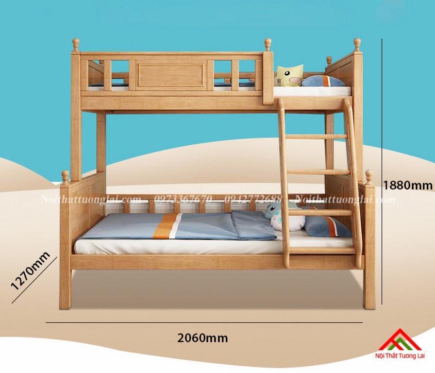 Giường tầng đẹp cho bé GT6829 2
