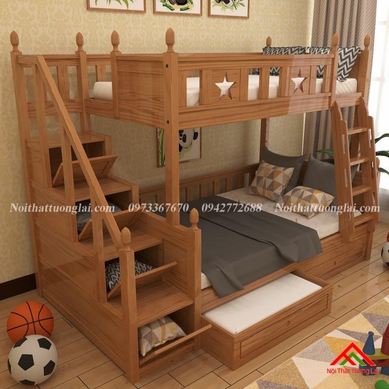 Giường tầng cho trẻ em nhỏ gọn GT6821