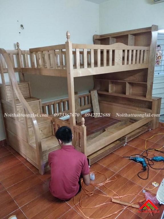 Thực tế giường tầng trẻ em GT6826 1