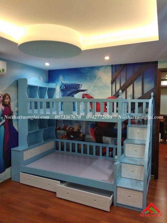 Thực tế giường tầng trẻ em GT6826 6