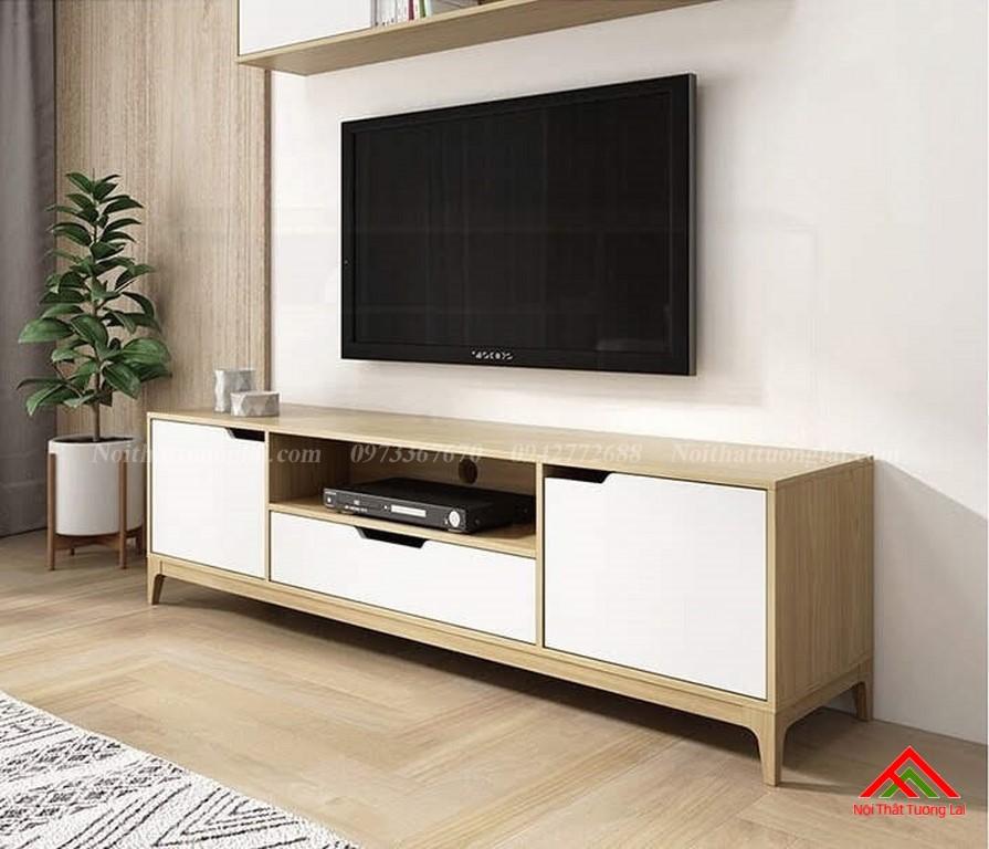 Kệ tivi gỗ công nghiệp KE6818 thiết kế hiện đại 5
