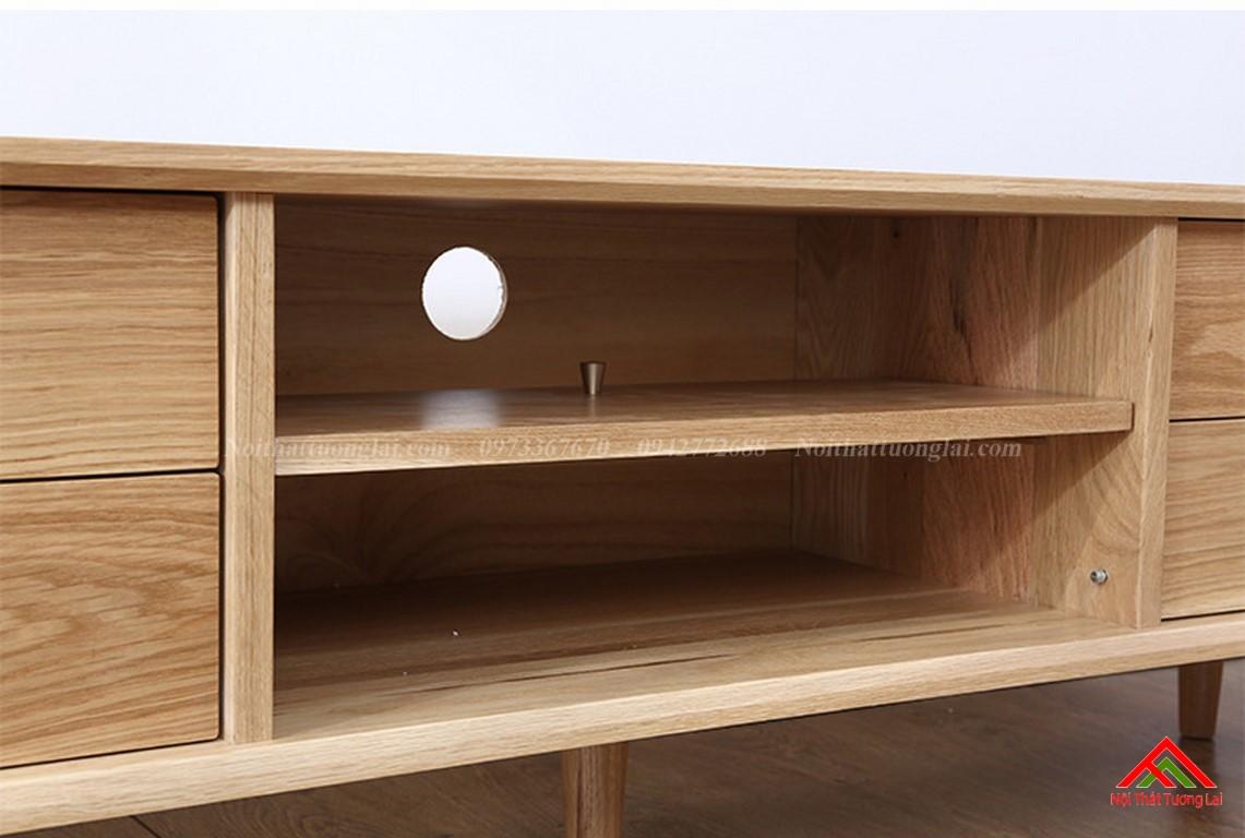 Kệ tivi gỗ KE6819 đa chức năng 4