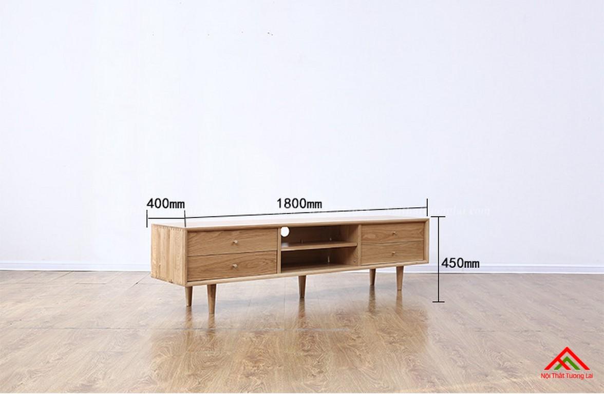 Kệ tivi gỗ KE6819 đa chức năng 2