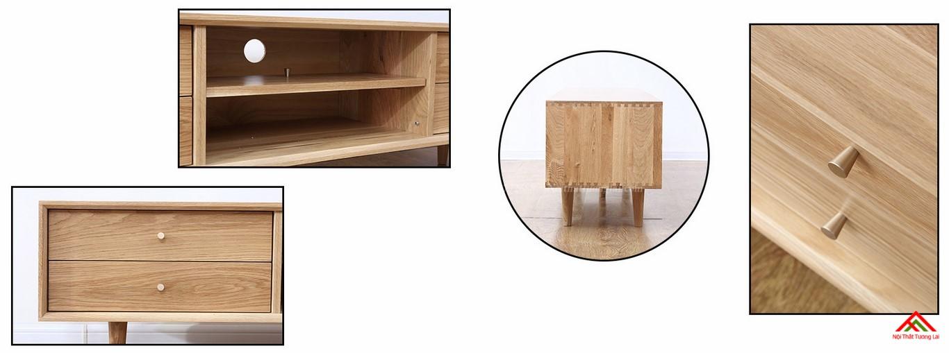Kệ tivi gỗ KE6819 đa chức năng 6