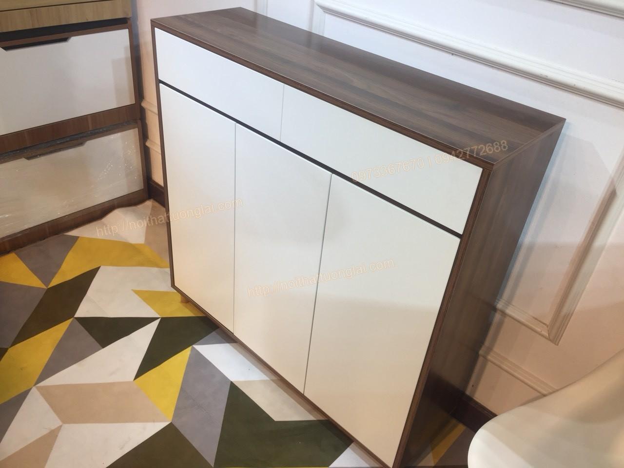 tủ giầy thiết kế đẹp hiện đại