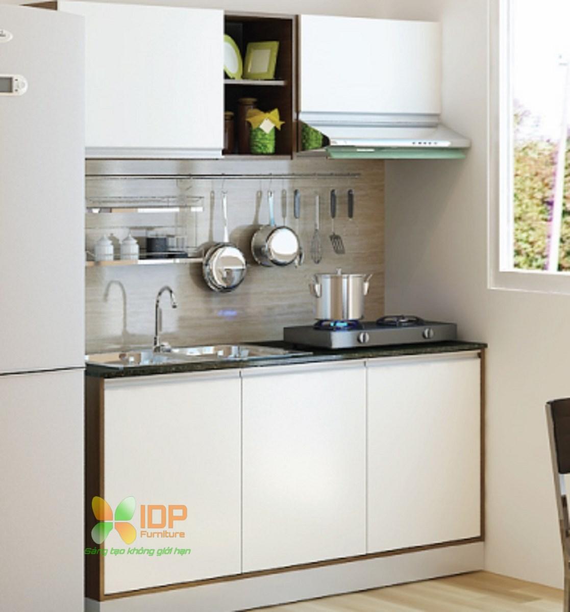 mẫu thiết kế tủ bếp nhỏ đẹp hiện đại hà nội