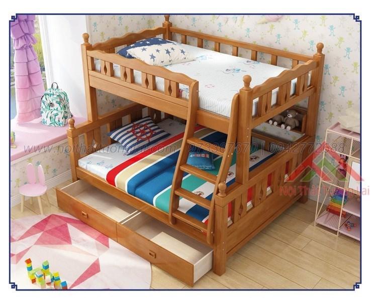 Giường ngủ 2 tầng trẻ em