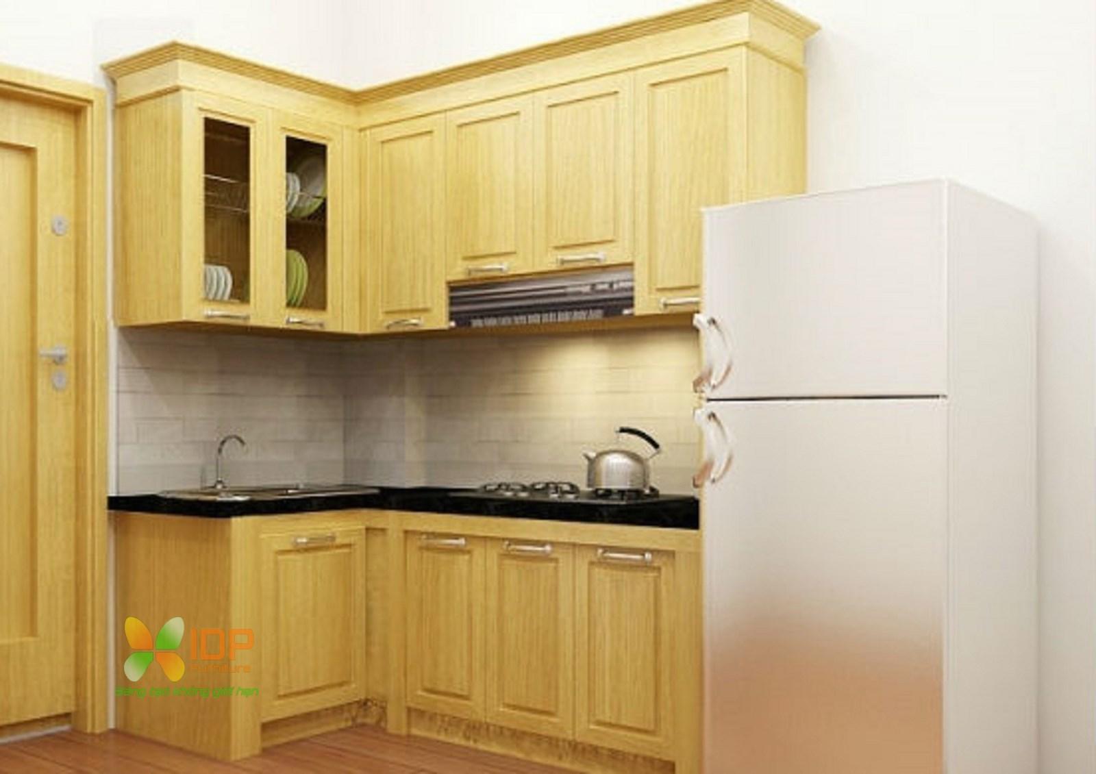 tủ bếp nhỏ đẹp