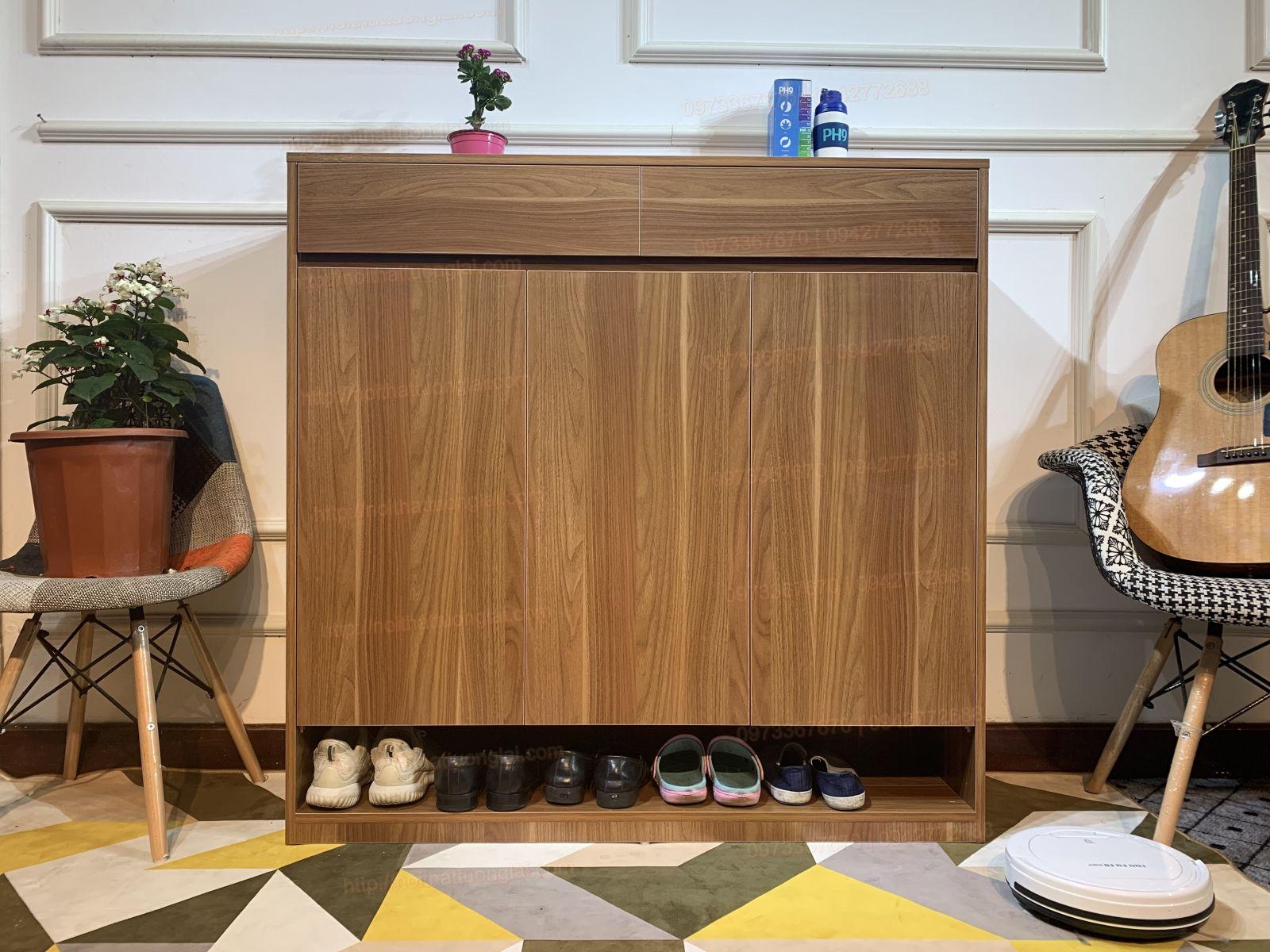 tủ giày bằng gỗ chất lượng đẹp