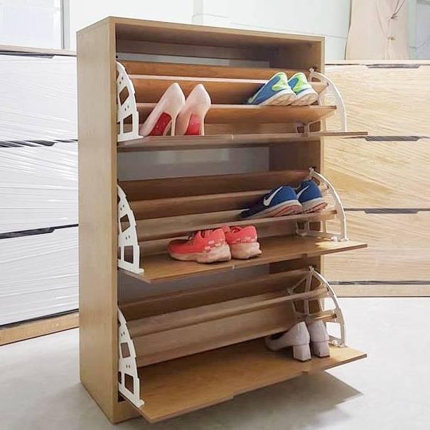 tủ giày xoay