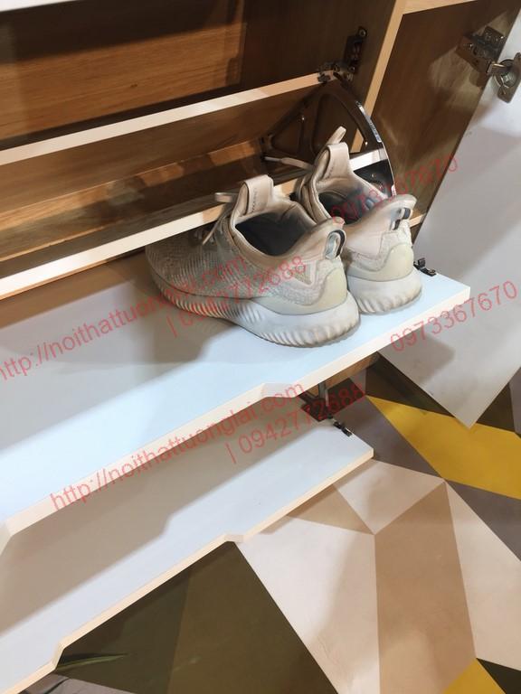 tủ giầy thông minh hai tầng