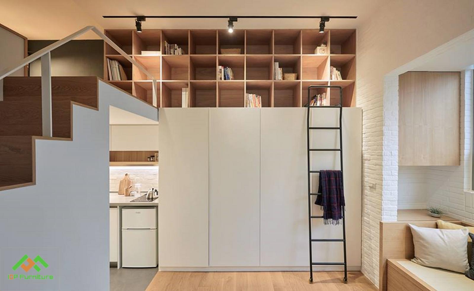thiết kế căn hộ nhỏ dưới 30m vuông hiện đại và cá tính