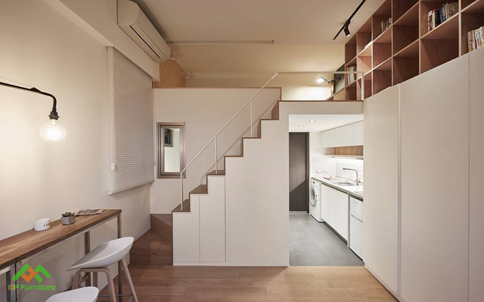 thiết kế căn hộ 30m