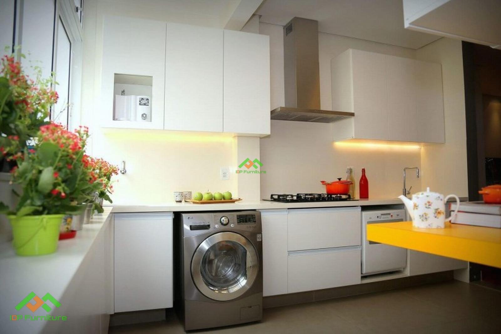 Thiết kế tủ bếp Acrylic đẹp TB6822
