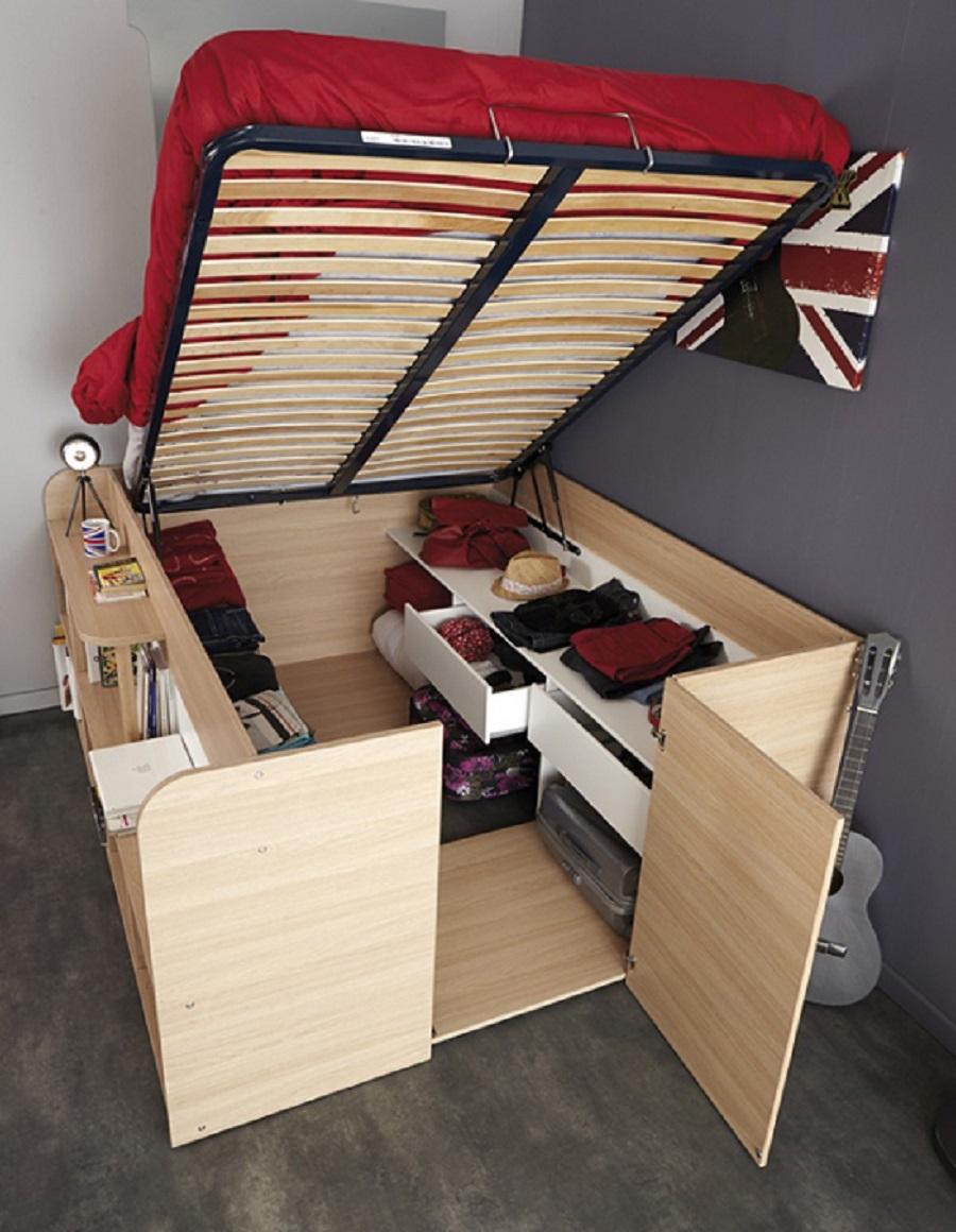 Top 10 mẫu giường gỗ công nghiệp thịnh hành nhất 3
