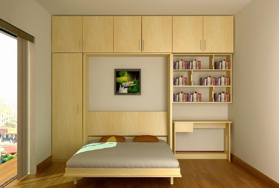 Mẫu giường gỗ công nghiệp thịnh hành nhất