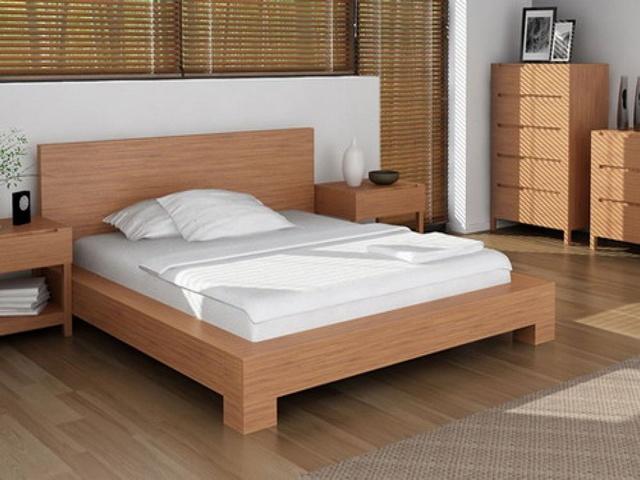 Top 10 mẫu giường gỗ công nghiệp thịnh hành nhất 9