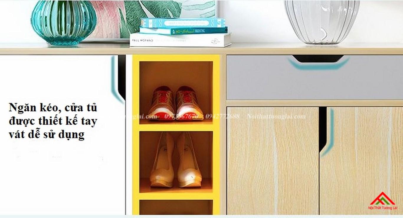 Tủ giày dép thiết kế tiện dụng TG6811 6