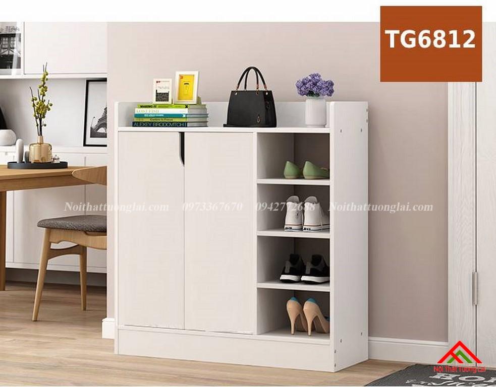 Tủ giầy gỗ công nghiệp hiện đại TG6812 9