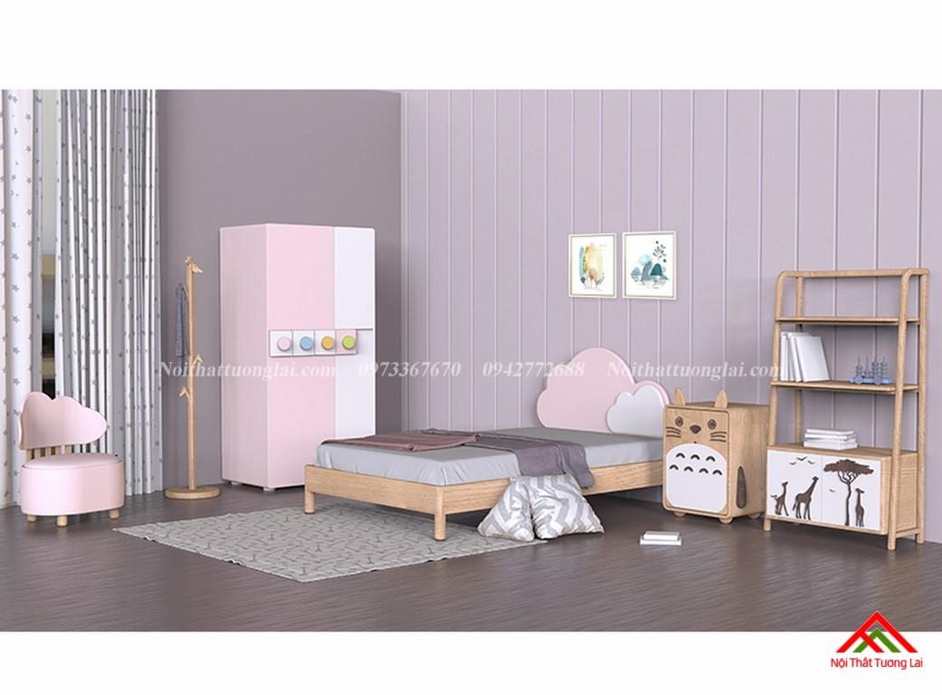 Tủ quần áo cho bé gái GA6811 1