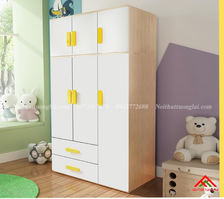 Tủ quần áo đẹp cho bé GA6809 1