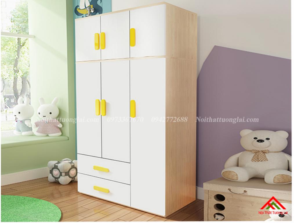 Tủ quần áo đẹp cho bé GA6809 8