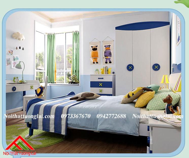 Tủ quần áo trẻ em QA6805