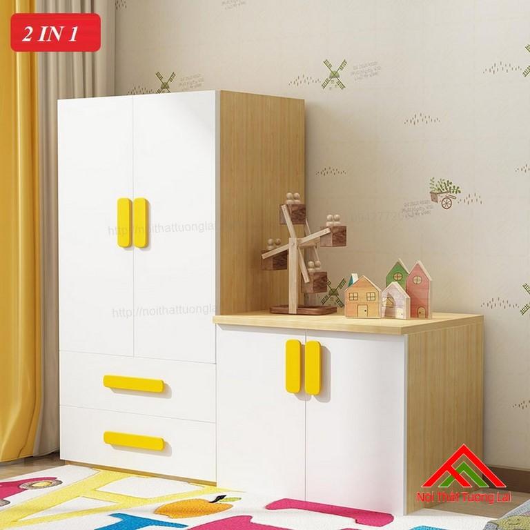 Tủ quần áo trẻ em QA6808 1