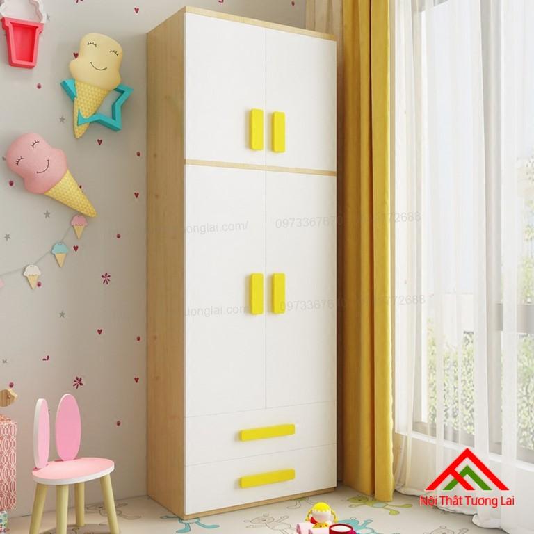 Tủ quần áo trẻ em QA6808 6