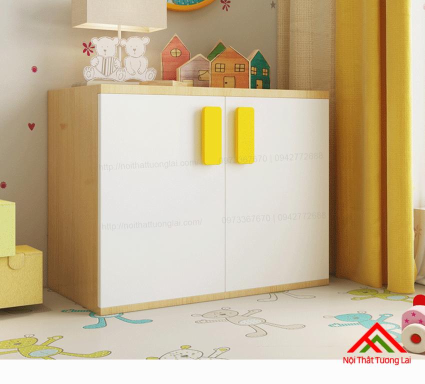Tủ quần áo trẻ em QA6808 7