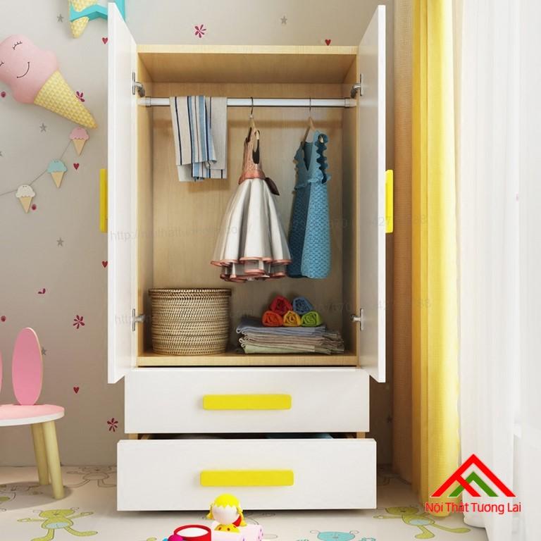 Tủ quần áo trẻ em QA6808 4