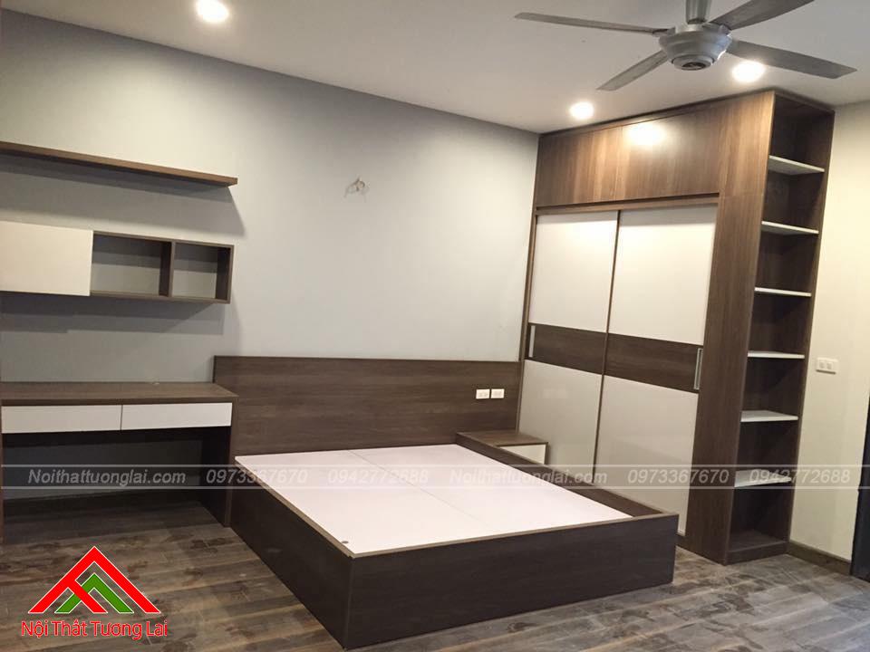 Giường ngủ thiết kế đơn giản, hiện đại GN6806
