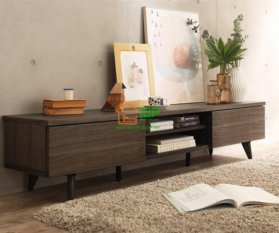 Kệ tivi đẹp bằng gỗ cao cấp KT6807