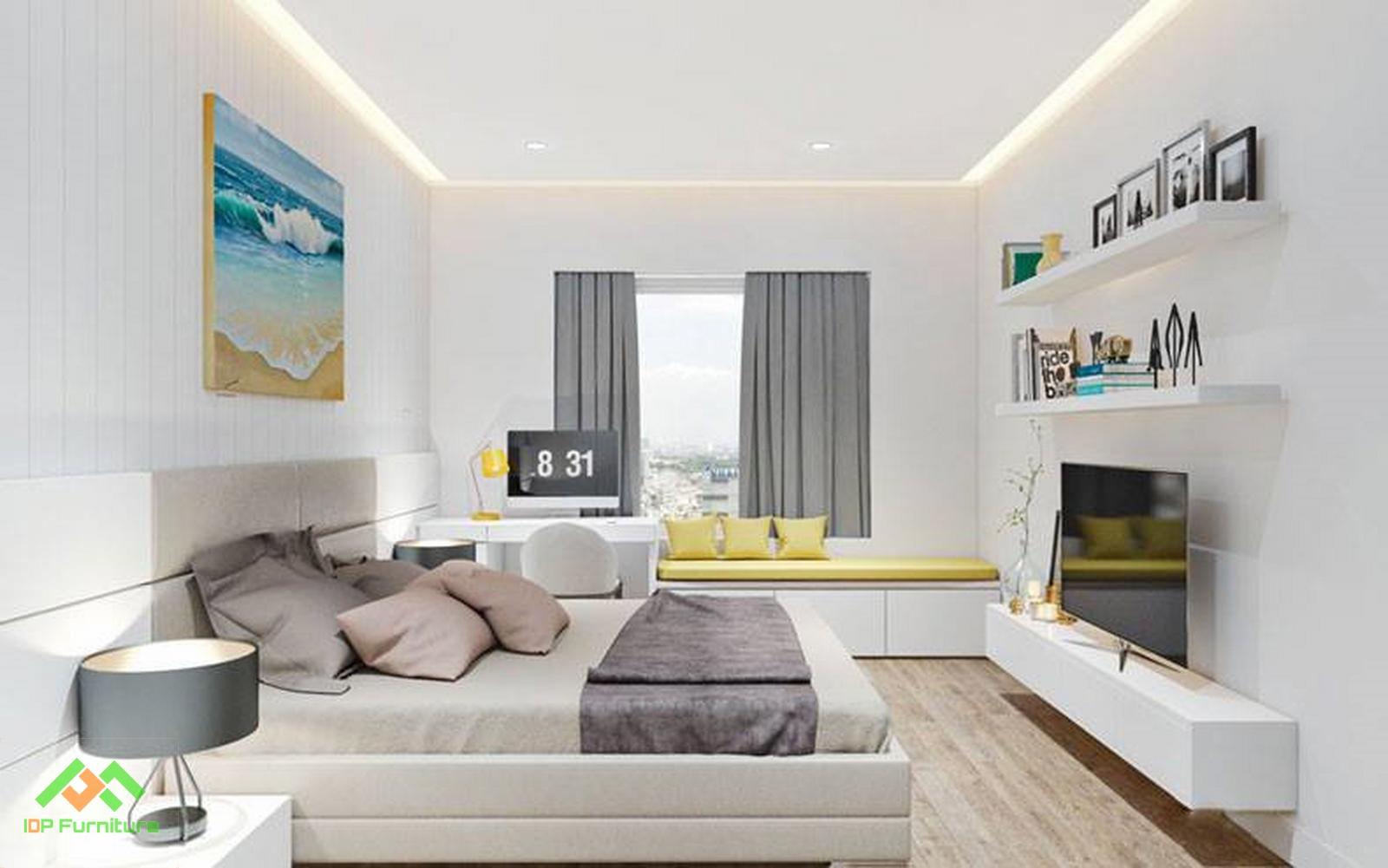 Mẫu phòng ngủ đẹp hiện đai PN6806