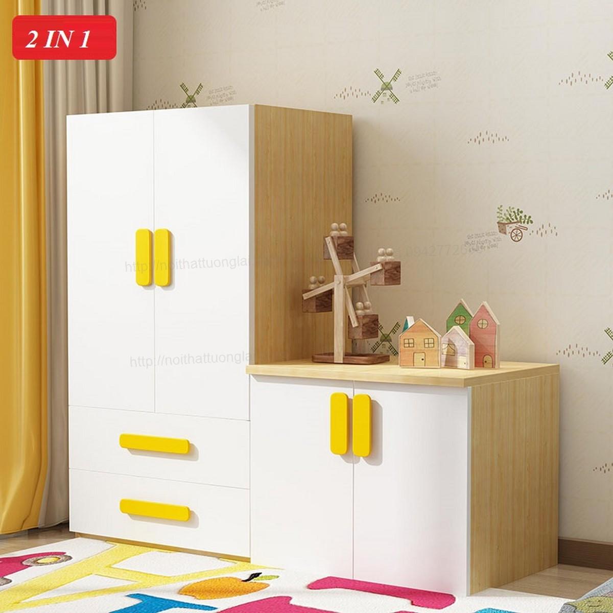 Tủ quần áo trẻ em QA6808