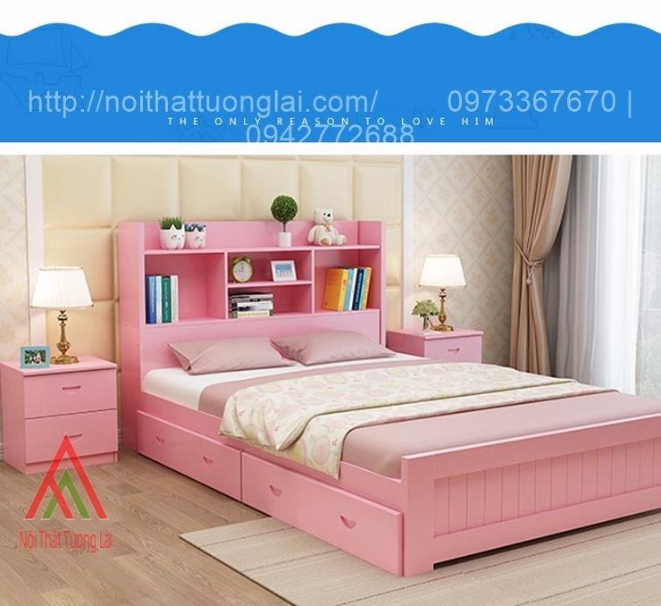 Giường ngủ trẻ em đa chức năng GB6804