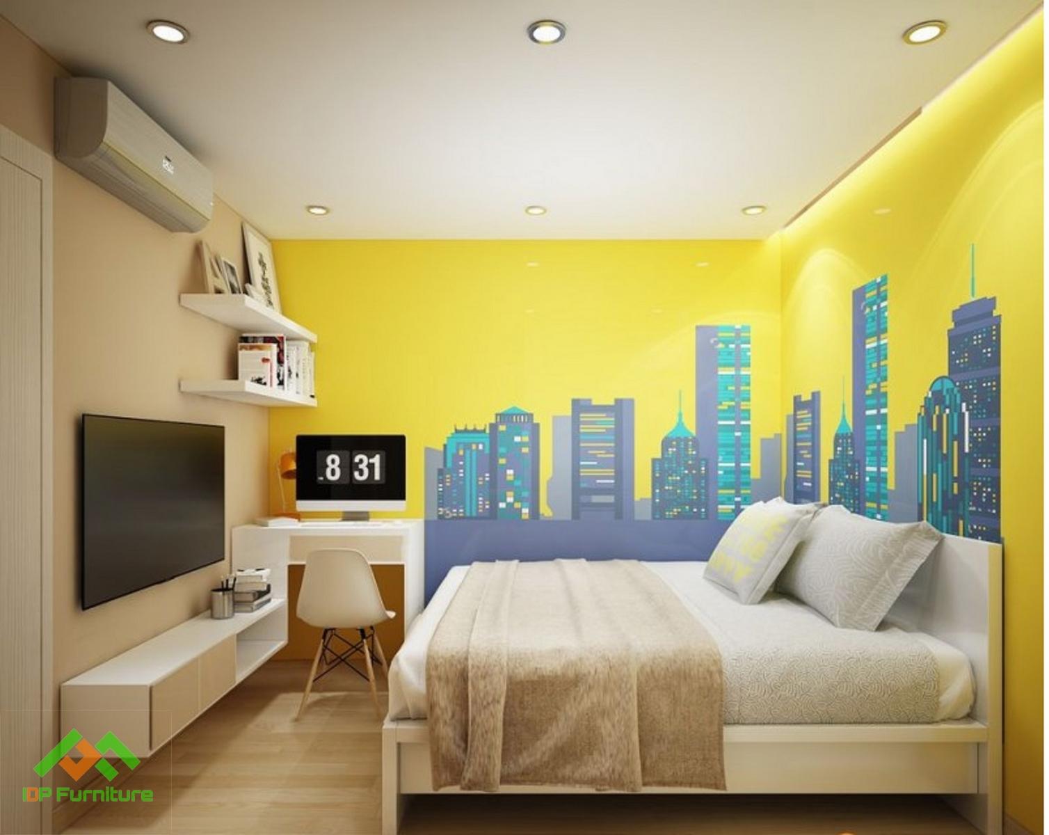 Thiết kế nội thất chung cư Hòa Bình