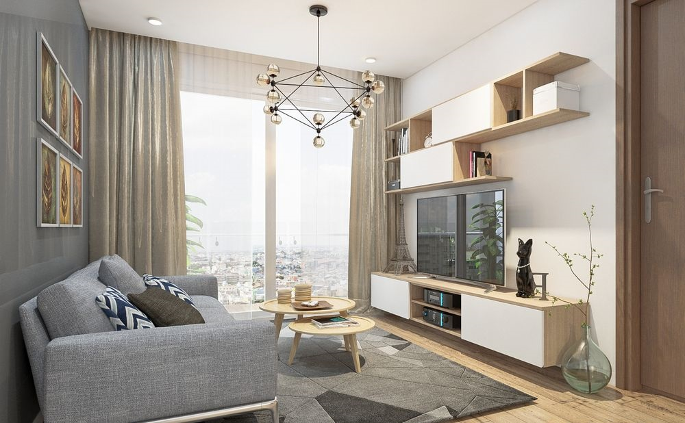 Thiết kế phòng khách đẹp  PK6806