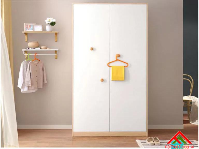 Tủ quần áo trẻ em bằng gỗ QA6807