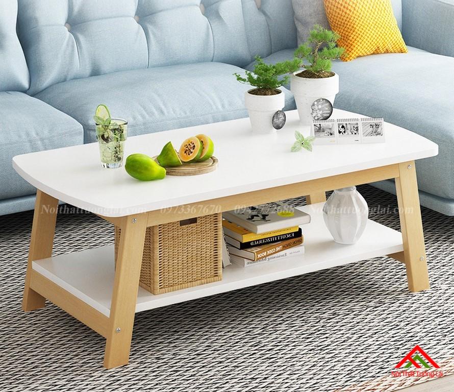 Bàn trà phòng khách đơn giản mà cá tính BN6804