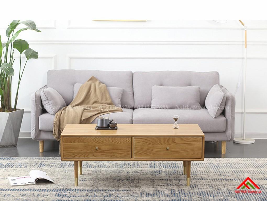 Bàn trà sofa kết cấu chắc chắn BN6809