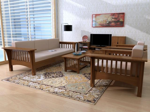 Bộ bàn ghế phòng khách đẹp BG6802