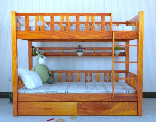 Giường 2 tầng cho bé GT6815