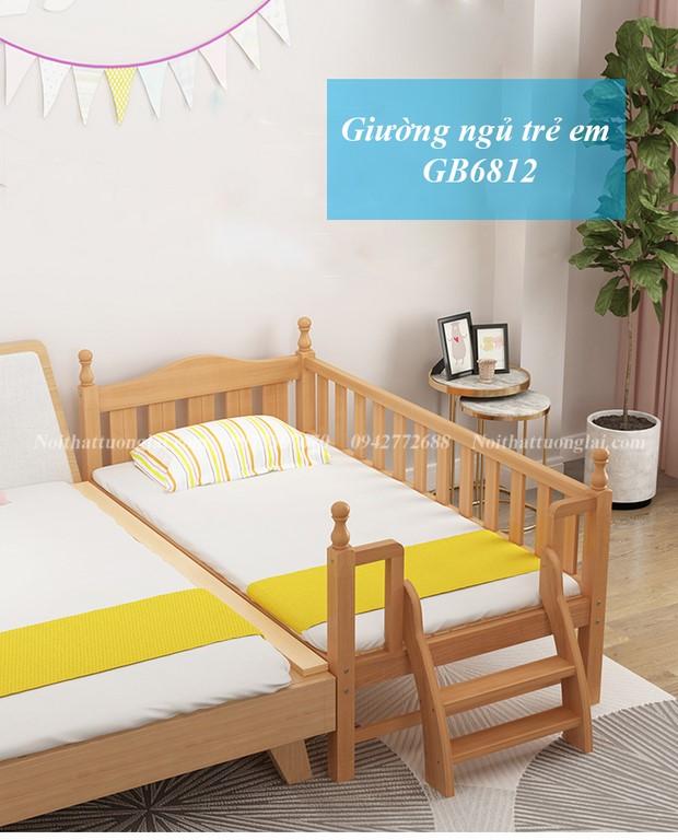 Giường cũi cho bé tiện lợi, đa năng GB6812